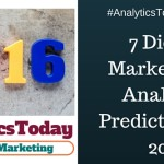7 Digital Marketing and Analytics Predictions for 2016