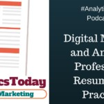 Digital Marketer and Analytics Professional Resume Best Practices